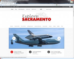 The all new ExploreSacramento.com